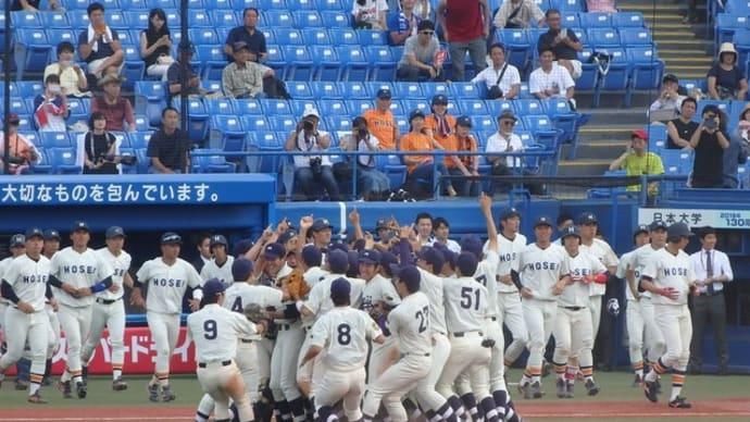 明治 vs 法政 @神宮【東京六大学】