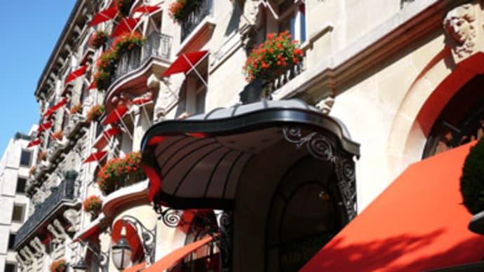 パリの高級ホテル、プラザアテネの朝食に登場する「ショコラティーヌ」の作り方を習いました。