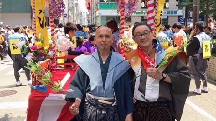 松囃子2日目~の総踊り・・(詳細)