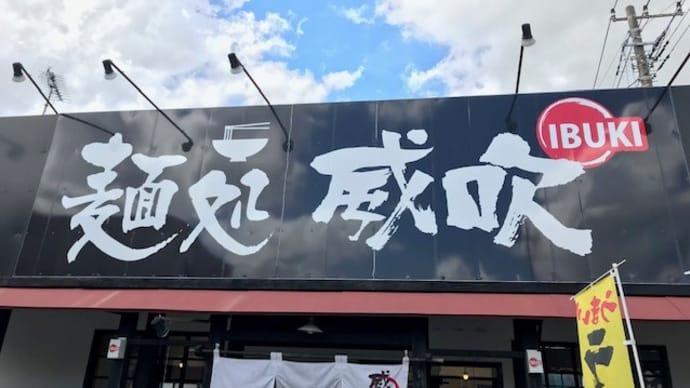 麺処 威吹(いぶき)で「NIBOだし醤油らーめん」 2019/9/7
