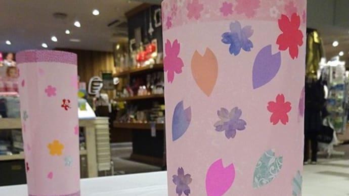 桜の行灯ワークショップ、ありがとうございました!!