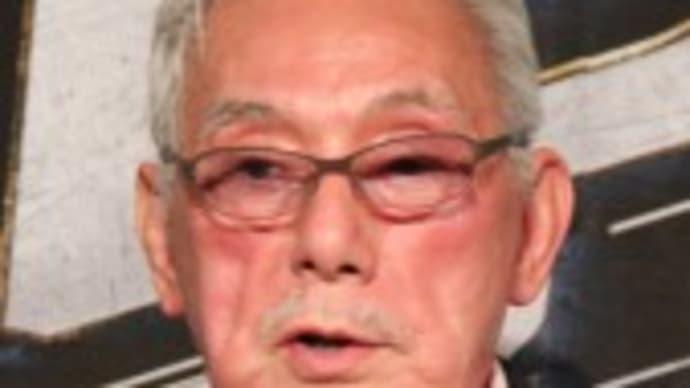"""""""エースのジョー""""宍戸錠さん死去、86歳「渡り鳥」「流れ者」シリーズ敵役で人気"""