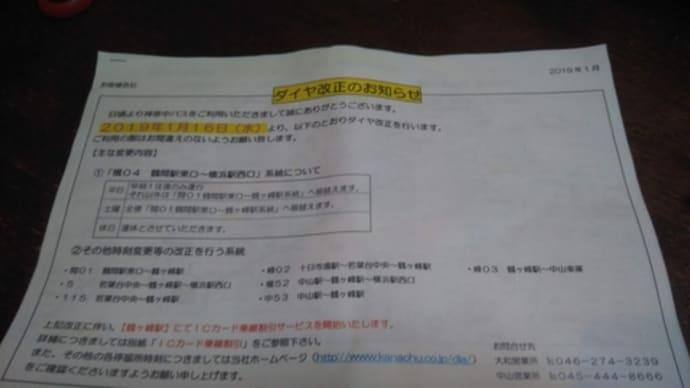 (神奈中・横04系統)横浜駅西口~鶴間駅東口のバス(実質的に廃止に)