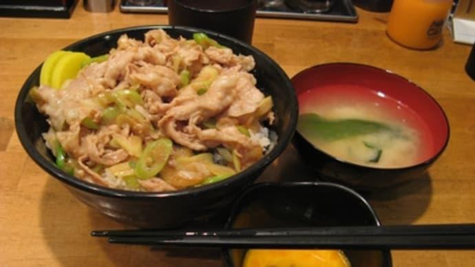 11月22日の食事(スタ丼)