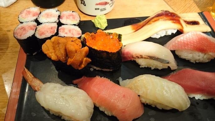 リーズナブルに美味しい寿司ランチが食べられる(水道橋)