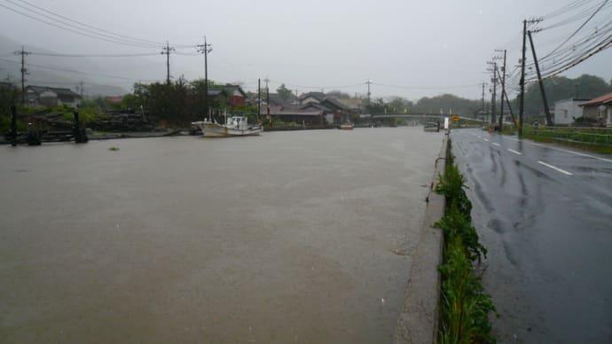 5月史上最大の雨