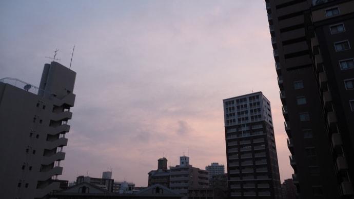 2019.7.17 福岡の今朝の空