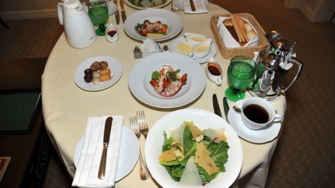 ホテル椿山荘東京*ルームサービス