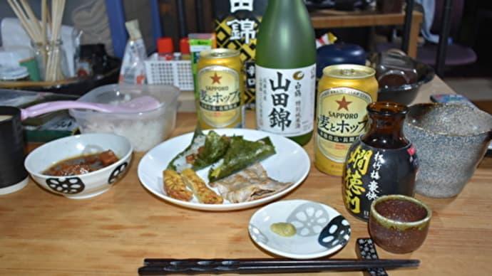 「鬼平犯科帳Ⅲ」を観ながら、手巻き寿司で一杯!📷ぶらり旅【おうち居酒屋】2021-3-3