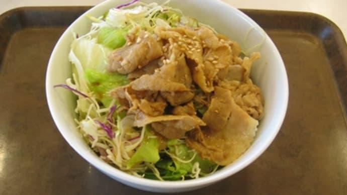 2月6日の昼食(すき家)