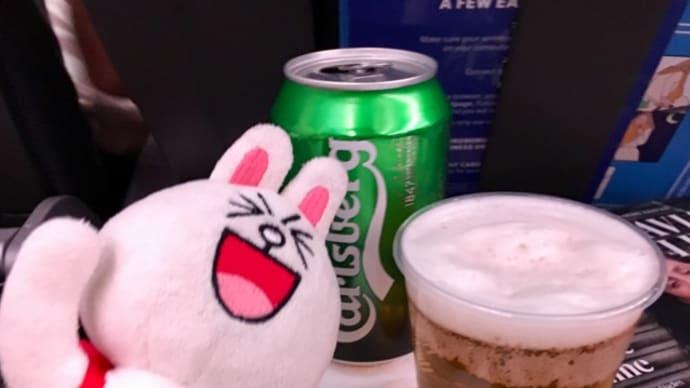 1年ぶりのSAS機の旅〜機内食編