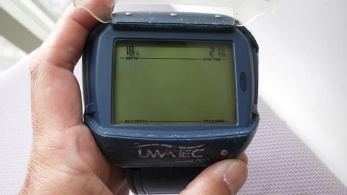 SCUBAPRO.UWATECスマートプロダイブコンピュータ電池交換で復活