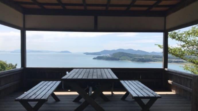 故郷、小豆島にて