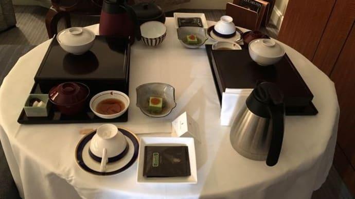 ザ・リッツ・カールトン東京*ルームサービスでお夜食