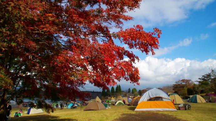 田貫湖・白糸の滝の紅葉