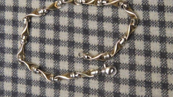 ブレスレットの金具バネ修理