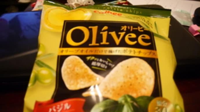 calbee Oliveeのポテトチップス