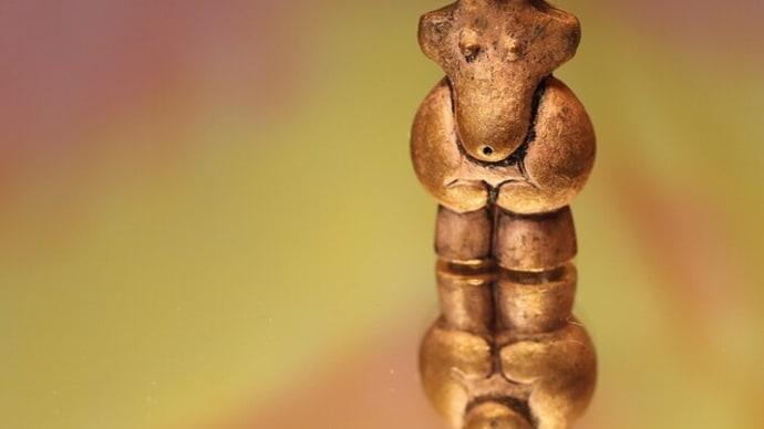 国宝土偶 「縄文のビーナス」ペンダントミニオブジェ (659-334)