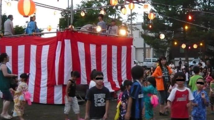 町内の盆踊り