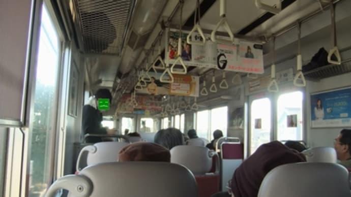 2012年12月名古屋・伊勢の旅(その4・赤い電車で松阪に)