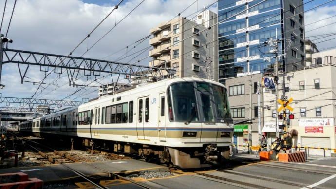 大和路線 平野駅付近