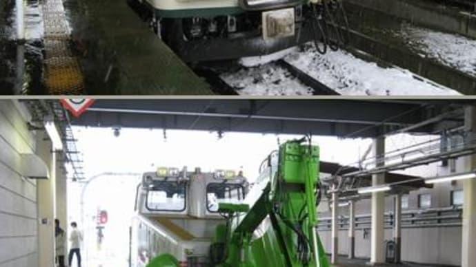 09年1月長野方面と名古屋の旅(その2・ほくほく線普通に乗車)