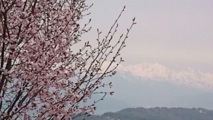 長峰山~光城山