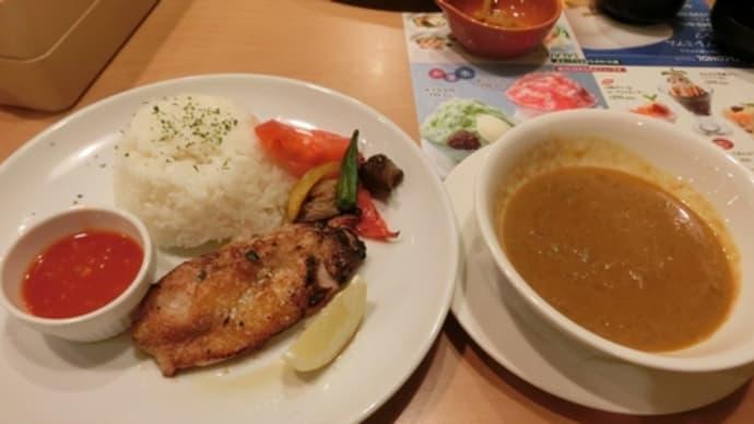 平成26年7月31日の食事(ガストでシンガポールカレー)