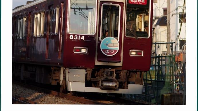 阪急電車 ・ 直通特急 ほづ