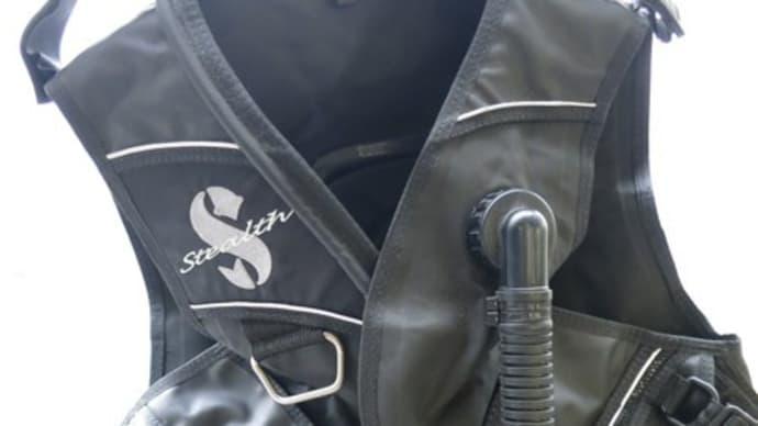 SCUBAPROスタビ「ステルス(M)」BCジャケット完売しました