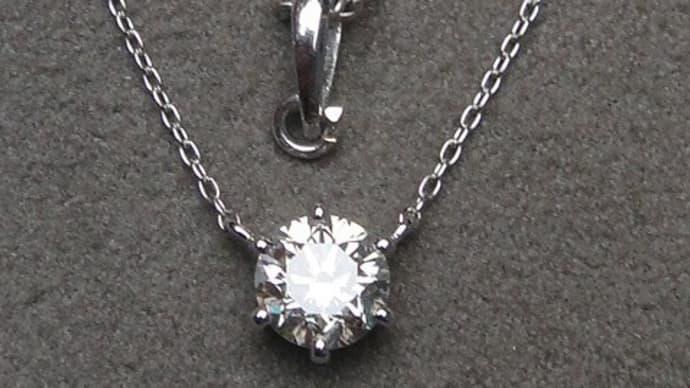 ダイヤモンドネックレスのリフォーム