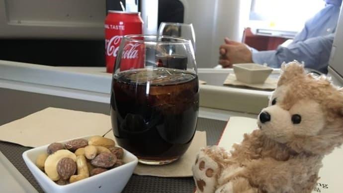 キャセイビジネスクラス機内食*パリ→香港→関空