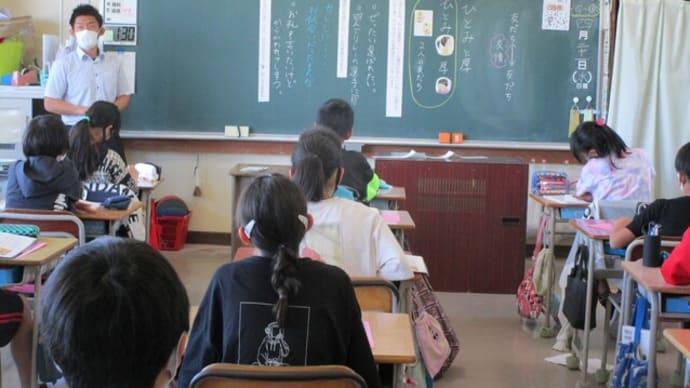 4/21(水)昨日に引き続き、授業参観・懇談会