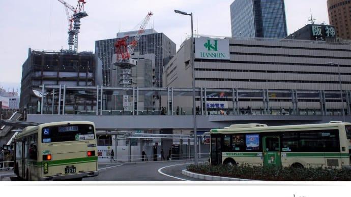 阪神百貨店の建築工事  2016.11.26