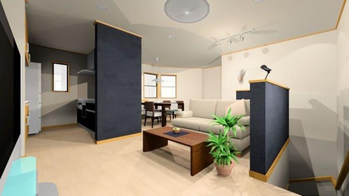 住まいの設計とデザイン・・・暮らしの提案にキッチンのスタイルとLDK空間の関連性、毎日使う場所と道具だから拘りたい部分、セミオープンとオープン、クローズの提案。