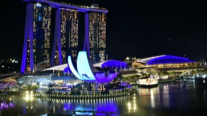 「シンガポールカウントダウン2019」をホテルのお部屋から♪