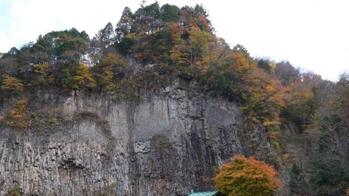 巌立峡(がんだてきょう)の紅葉