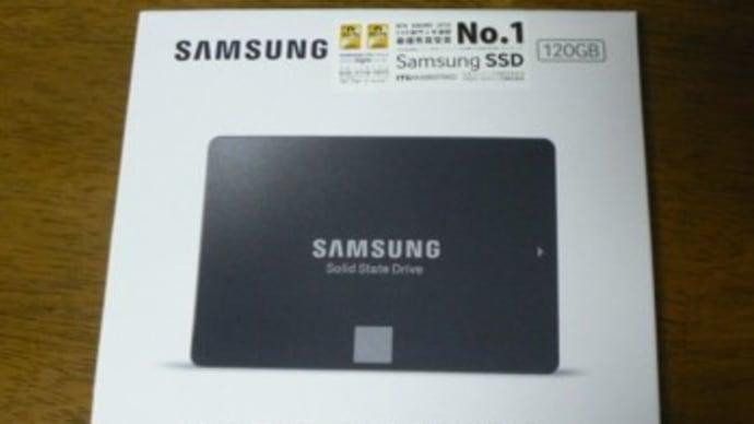 320GBHDD→120GBSSDへ換装
