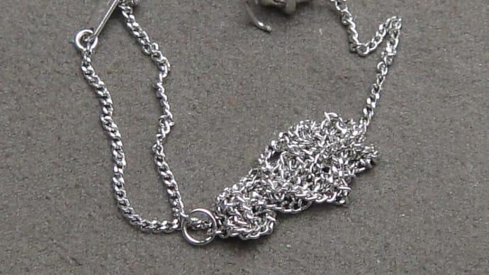 両吊りダイヤモンドネックレスの修理