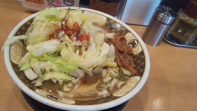 歌舞伎町の煮干しラーメン人気店で朝食