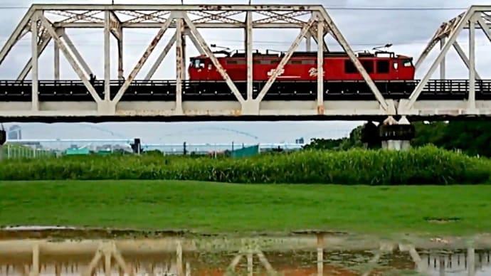 今日の赤川橋梁