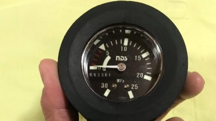 NDSシングル残圧計にTUSAコンパスをセットしてみた