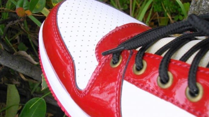 新しい靴をおろす