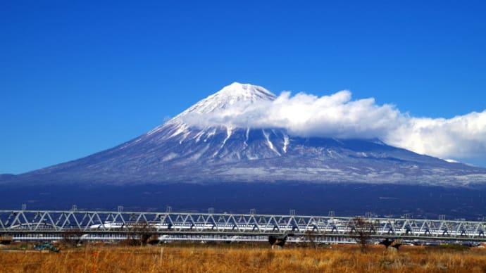富士山薄化粧