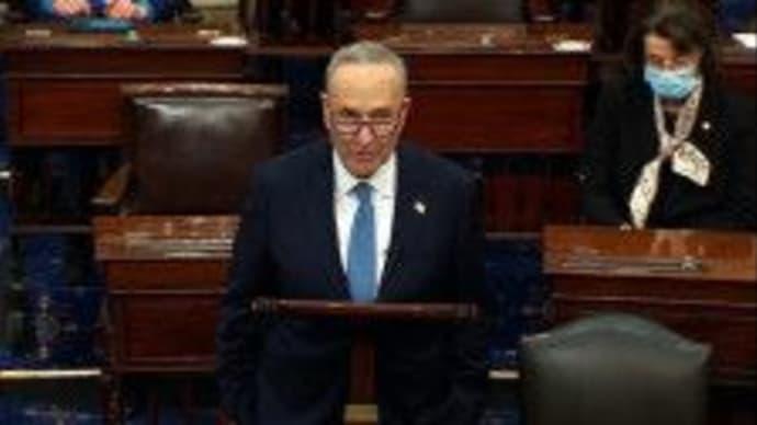 米下院、25日にトランプ氏の弾劾条項を上院に送付シューマー氏発言