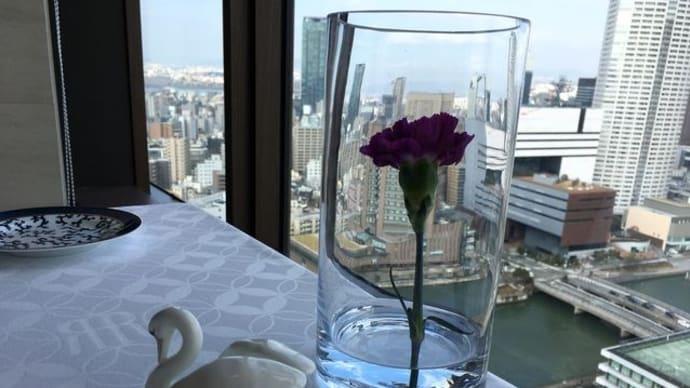 リーガロイヤルホテル大阪「シャンボール」にてランチ♪