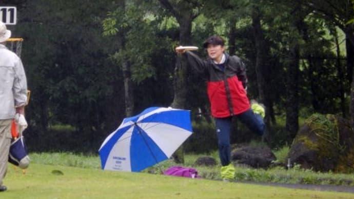 第20回福島市ディスクゴルフ大会に参加
