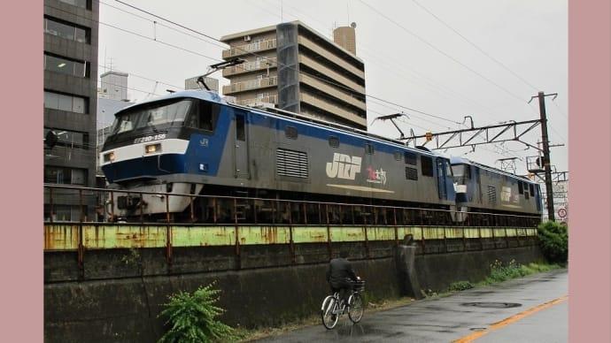 今朝の梅田貨物線