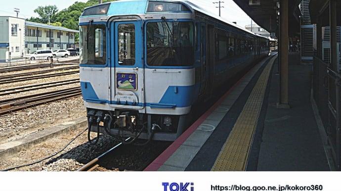 徳島駅で特急 剣山 5号