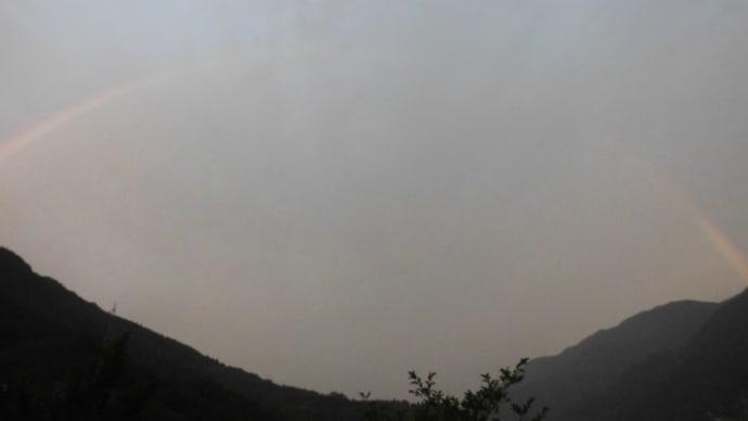 令和元年8月19日・今朝の東祖谷15.8℃